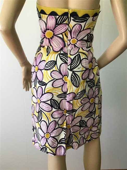 MILLY Purple /Yellow New York Short Casual Dress Size 6 (S) MILLY Purple /Yellow New York Short Casual Dress Size 6 (S) Image 9