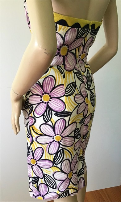 MILLY Purple /Yellow New York Short Casual Dress Size 6 (S) MILLY Purple /Yellow New York Short Casual Dress Size 6 (S) Image 10