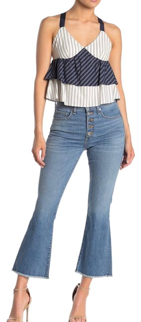 """Item - Grotto Medium Wash Carolyn Baby 10"""" Boot Cut Jeans Size 2 (XS, 26)"""