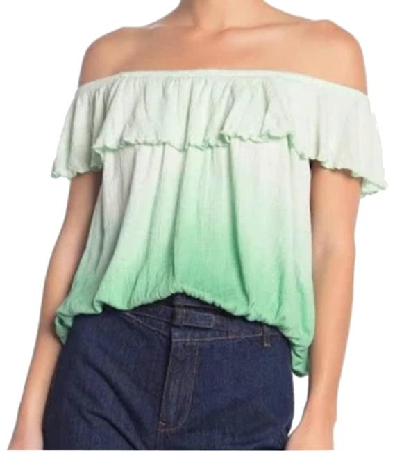 Item - Green Ombre XS Cora Lee Tee Shirt Size 0 (XS)