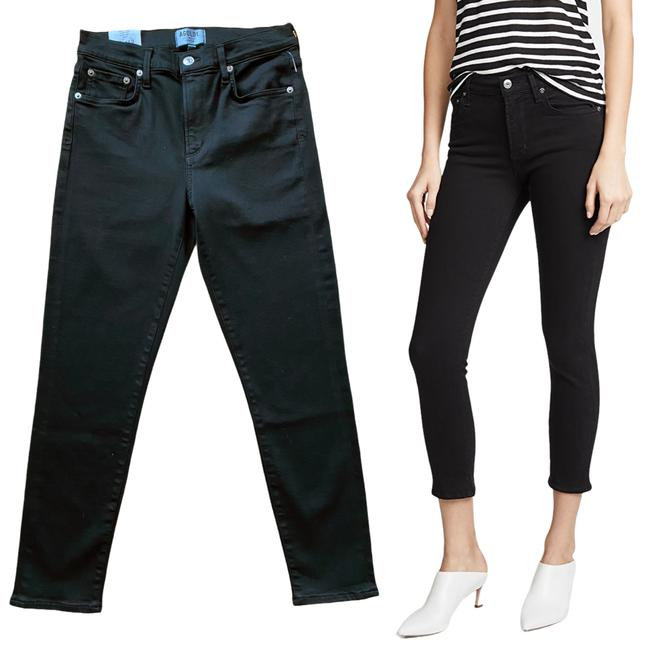 Item - Black Sophie High Rise Crop Sustainable Skinny Jeans Size 29 (6, M)