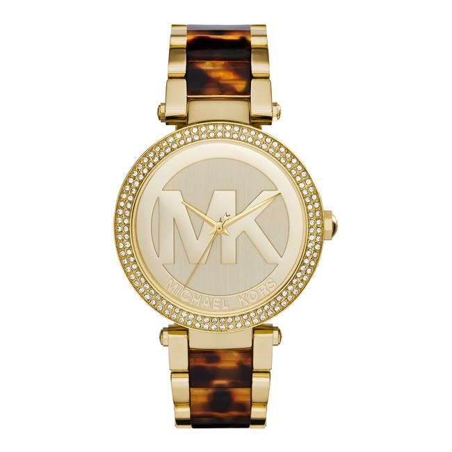 Item - Gold Parker Tortoise Acetate and 39mm Mk6109 Watch