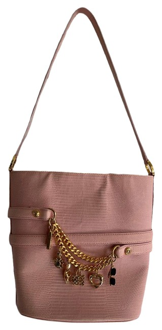 Item - Leather Purse Charms Made In Italy Shoulder Bag
