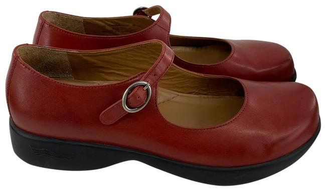 Item - Red Women Mary Jane 8.5 Formal Shoes Size EU 39 (Approx. US 9) Regular (M, B)