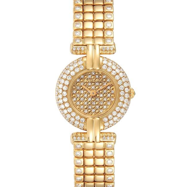 Item - Pave Diamond Colisee Yellow Gold Limited Edition Ladies Watch