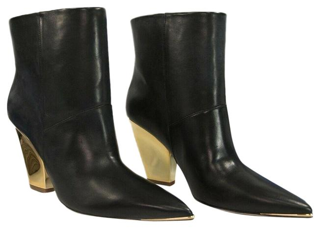 Item - Black Lila 95mm Calf Leather Ankle Boots/Booties Size US 6 Regular (M, B)