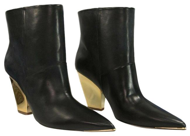 Item - Black Lila 95mm Calf Leather Ankle Boots/Booties Size US 8 Regular (M, B)