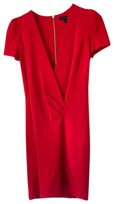 Item - Red Short Night Out Dress Size 6 (S)