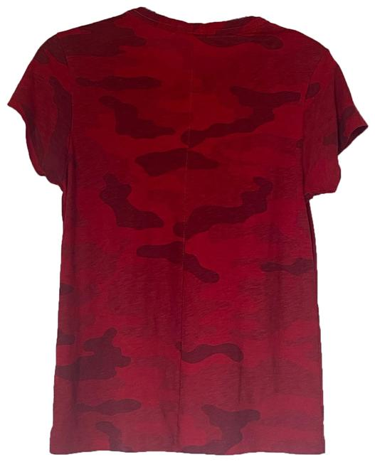 Item - Red And Tee Shirt Size 6 (S)