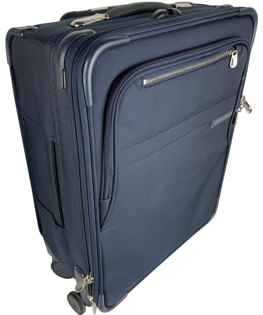 Item - New Intl. Carry-on Exp. Spinner Navy Blue Soft-sided Weekend/Travel Bag