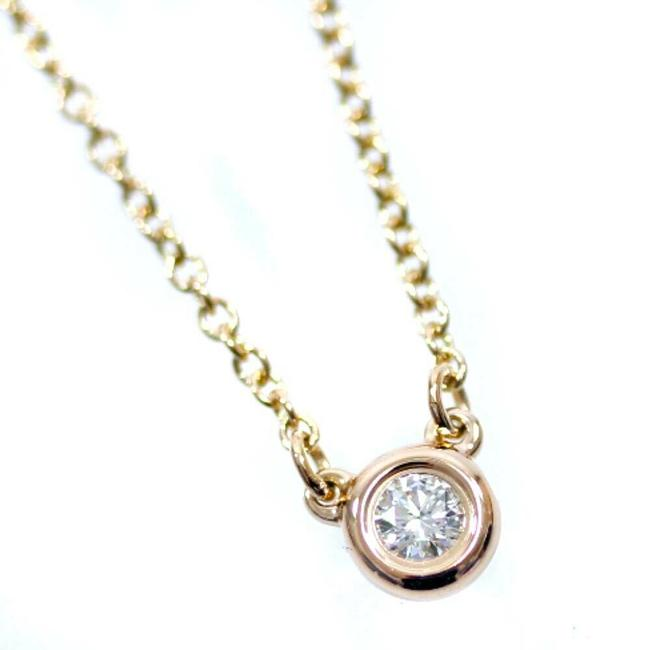 Item - Pink Gold 18k Gold/Diamond By The Yard Necklace
