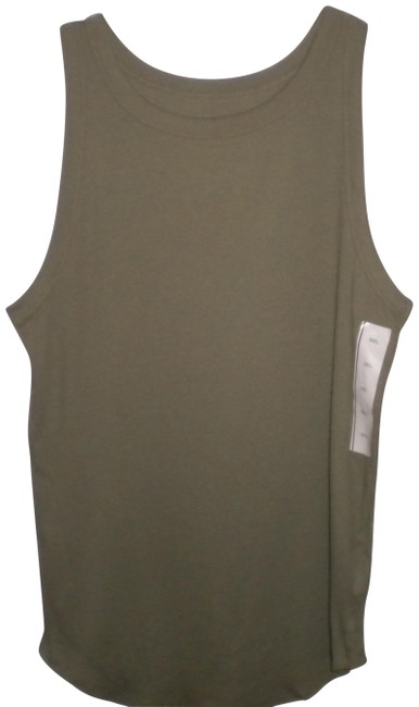 Item - Olive Women Tank Top/Cami Size 22 (Plus 2x)