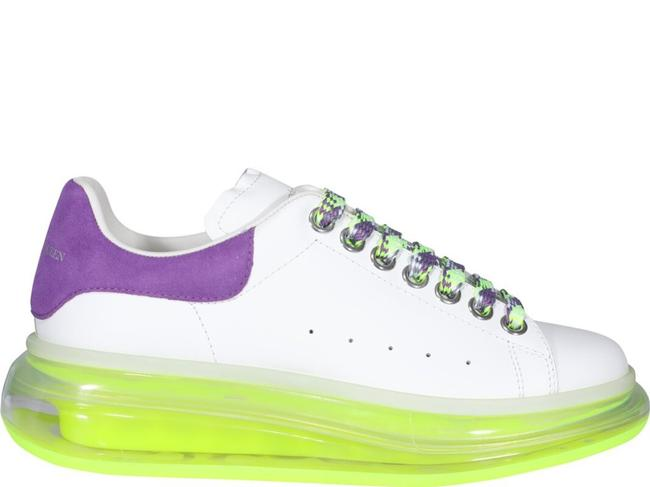 Item - White Oversized Sneakers Size EU 37 (Approx. US 7) Regular (M, B)