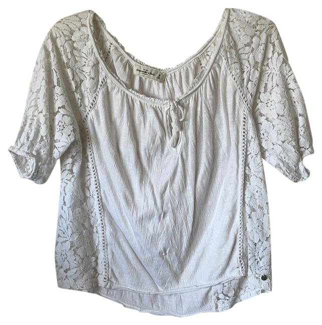 Item - Tops Pre Loved In White Blouse Size 8 (M)