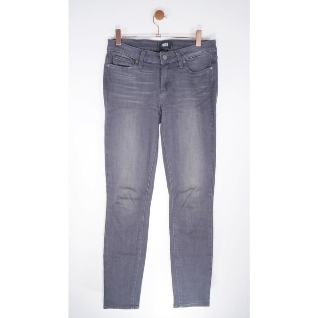 Item - Grey Verdugo Ankle Luxurious Transcend Fabric Skinny Jeans Size 27 (4, S)