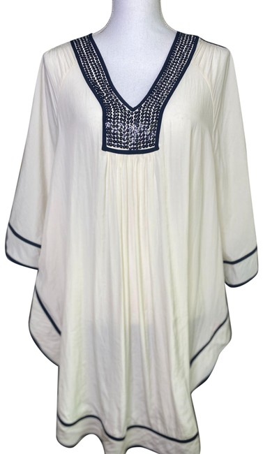 Item - Cream Channon Sequin Halftan Cover-up/Sarong Size OS (one size)