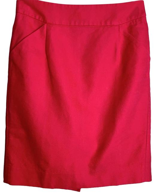 Item - Red Bright Red/Coral Pencil Skirt Size 4 (S, 27)