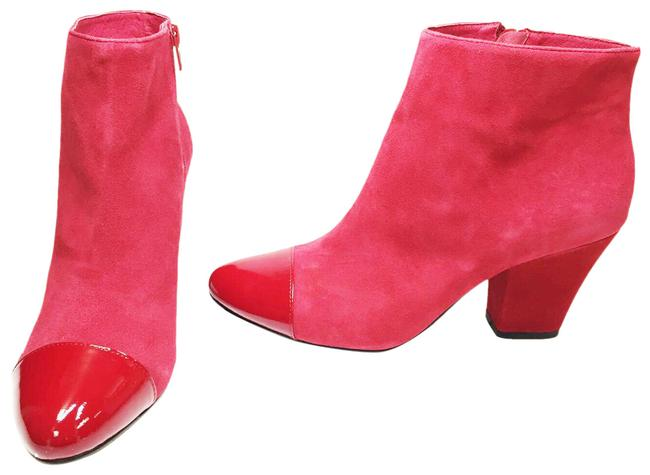 Item - Burgundy Cate Women's Zip Pointed Toe Ankle Boots/Booties Size US 8.5 Regular (M, B)