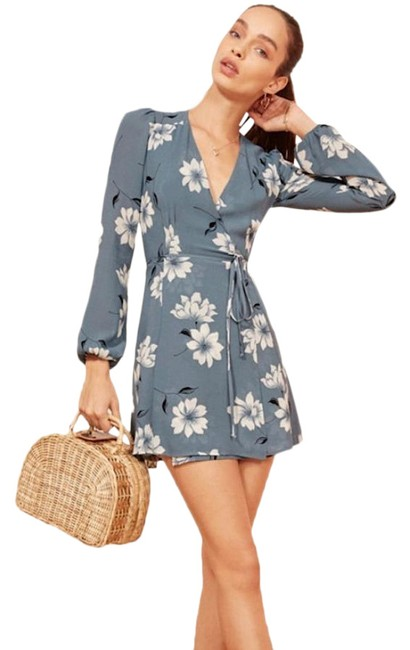 Item - Blue Collins In Frederica Short Night Out Dress Size 0 (XS)