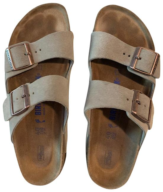Item - Beige Arizona Sandals Size EU 40 (Approx. US 10) Narrow (Aa, N)