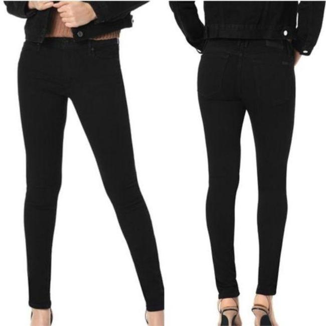 Item - Black Dark Rinse Flawless The Honey Curvy Skinny Jeans Size 24 (0, XS)