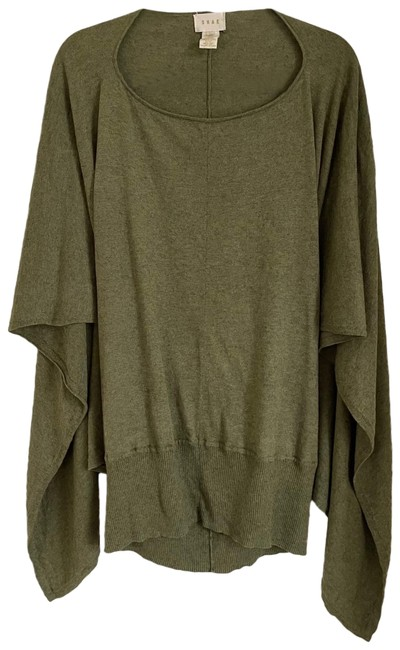 Item - Cashmere Blend Moss Green Sweater