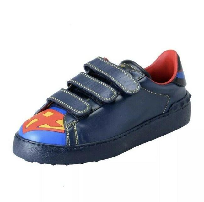 Item - Blue Garavani Womens Limited Edition Super H Batman Sneakers Size US 6 Regular (M, B)