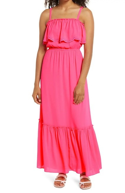 Item - Pink Adia M Long Casual Maxi Dress Size 8 (M)