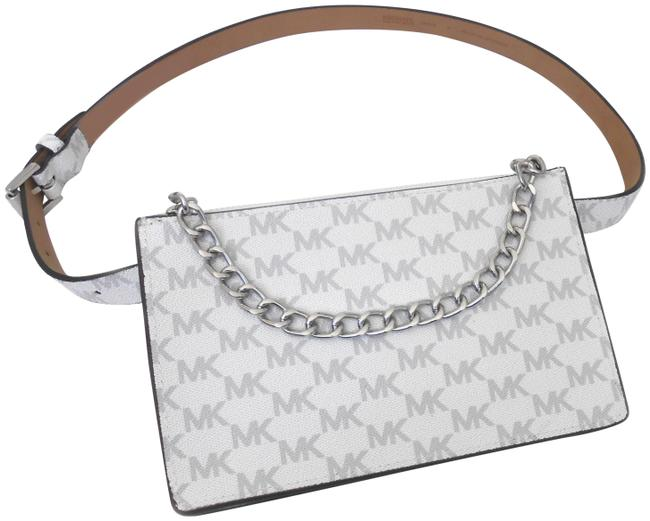 Item - Fanny Pack Large White Synthetic Cross Body Bag