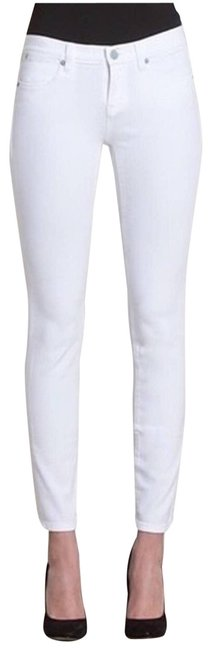 Item - White Ideal Ankle 26 Skinny Jeans Size 25 (2, XS)