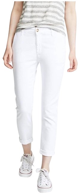 Item - White The Caden Trouser Chino Pant Relaxed Fit Jeans Size 27 (4, S)