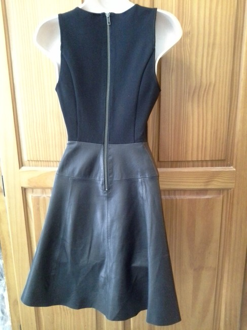 Joie Leather Dress Image 1