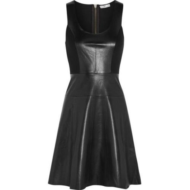 Joie Leather Dress Image 3