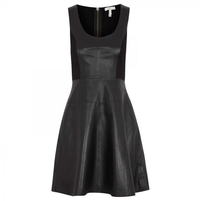 Joie Leather Dress Image 4