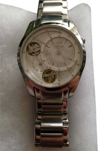 Fossil Women's boyfriend Fossil Watch/Silver and faux diamonds