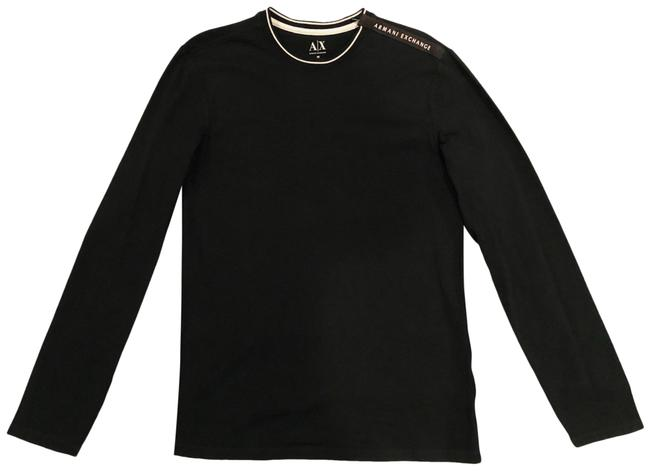 Item - Black Men's Long Sleeve Tee Shirt Size OS (one size)
