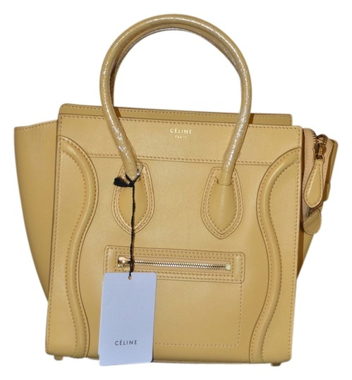 Preload https://item5.tradesy.com/images/celine-luggage-bnwt-micro-butter-saffron-yellow-leather-tote-2905459-0-0.jpg?width=440&height=440