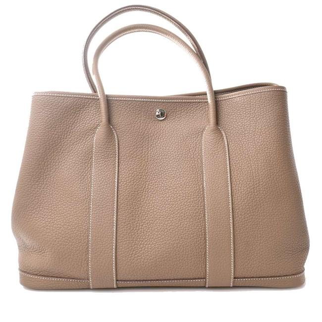 Item - Garden Party Bag Beige Negonda Leather Tote