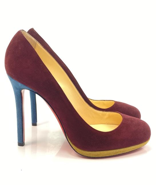 Item - Purple Neofilo 120 Suede Burgundy Pumps Size EU 38 (Approx. US 8) Regular (M, B)