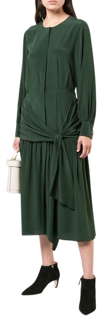 Item - New New York Solange Silk Knotted Midi Mid-length Casual Maxi Dress Size 4 (S)