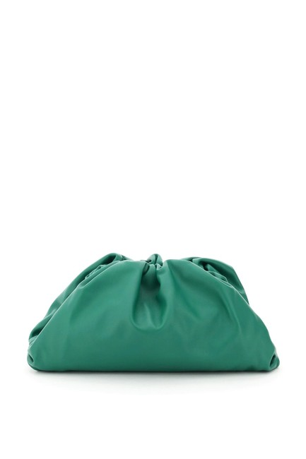 Item - The Pouch Green Leather Clutch