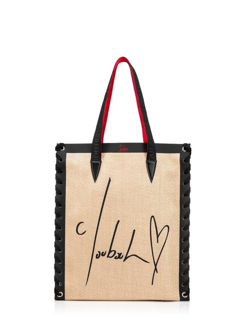 Item - Bag Cabalace Small Brown and Black Leather & Canvas Tote
