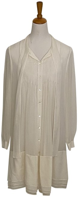 Item - Cream/Ivory Waverly Mid-length Night Out Dress Size 12 (L)