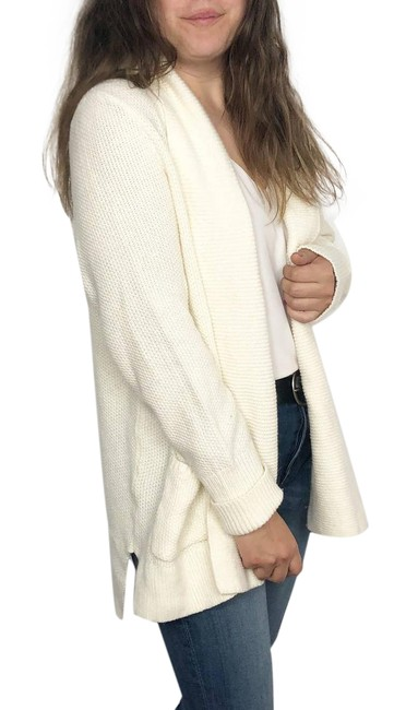 Item - Cream XL | Chunky Knit Sweater Women's Wool Rabbit Hair Cardigan Size 16 (XL, Plus 0x)
