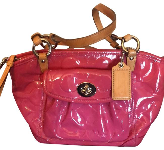 Item - Pink Patent Leather Satchel