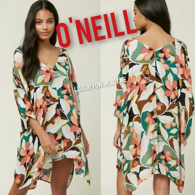 Item - Pastel Floral Lilly Tessa Tunic Dress Cover-up/Sarong Size 10 (M)