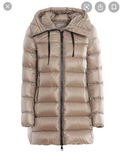 Item - Taupe Suyen Water Resistant Hooded Down Puffer Coat Size 8 (M)
