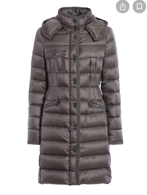Item - Taupe Hermine Hooded Puffer Jacket Coat Size 12 (L)