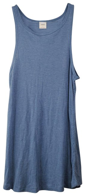 Item - Blue And Green Pair Of Racer Tank Top/Cami Size 6 (S)