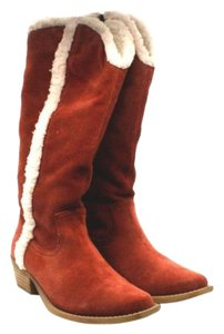 Dingo Women Ankle Red Boots